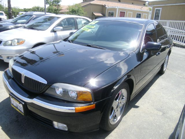 2002 LINCOLN LS BASE 4DR SEDAN black abs - 4-wheel anti-theft system - alarm cd changer center