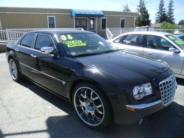 2006 CHRYSLER 300 C 4DR SEDAN black abs - 4-wheel adjustable pedals - power airbag deactivation