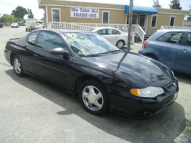 2002 CHEVROLET MONTE CARLO SS 2DR COUPE black 16 inch wheels abs - 4-wheel anti-theft system - a