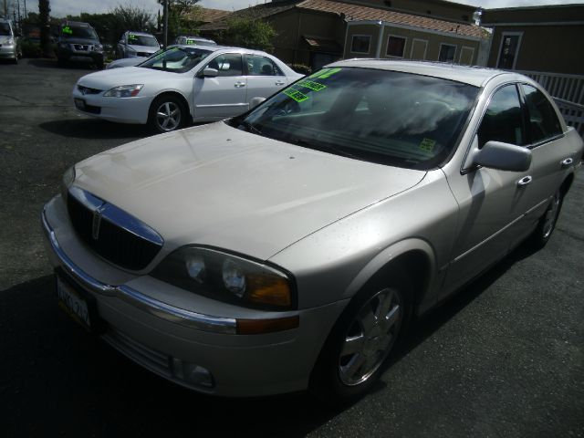 2002 LINCOLN LS BASE 4DR SEDAN champagne abs - 4-wheel anti-theft system - alarm cd changer ce