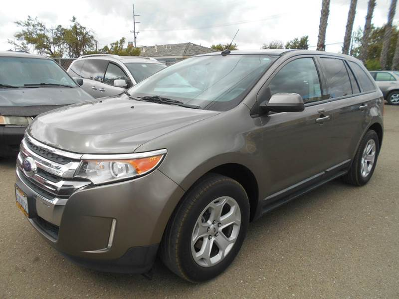 2012 FORD EDGE SEL 4DR CROSSOVER brown 2-stage unlocking doors abs - 4-wheel air filtration air