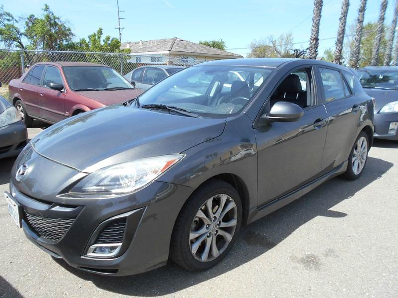 2010 MAZDA MAZDA3 S SPORT 4DR HATCHBACK 5A charcoal 2-stage unlocking doors abs - 4-wheel active