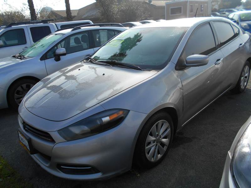 2014 DODGE DART SXT 4DR SEDAN gray 2-stage unlocking doors abs - 4-wheel active grille shutters