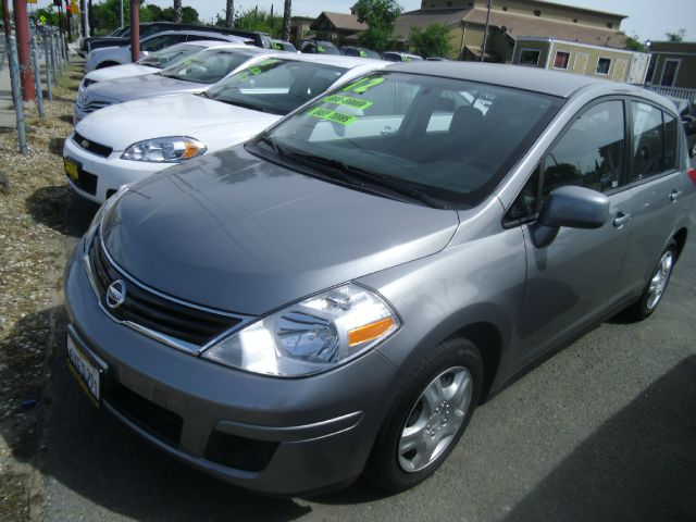 2012 NISSAN VERSA gray air conditioning amfm radio wcd player cruise control driver and pass