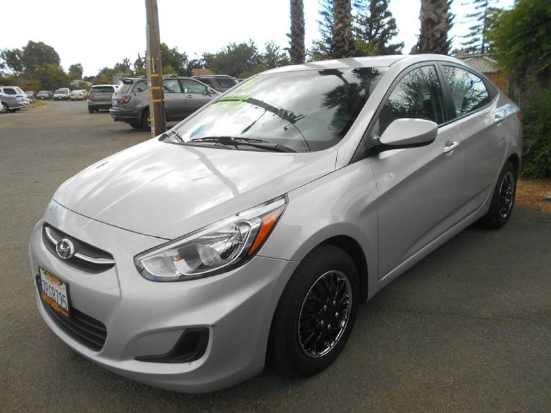 2016 HYUNDAI ACCENT SE 4DR SEDAN 6A silver 2-stage unlocking doors abs - 4-wheel active head re