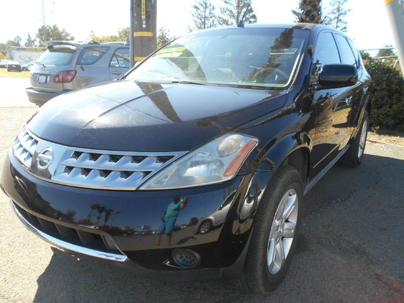 2006 NISSAN MURANO S AWD 4DR SUV black 4wd type - full time abs - 4-wheel active head restraint