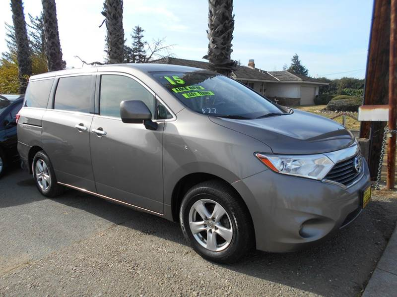 2015 NISSAN QUEST 35 SV 4DR MINI VAN gray 2-stage unlocking doors abs - 4-wheel active head res
