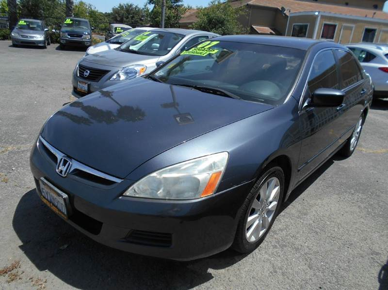 2007 HONDA ACCORD SPECIAL EDITION V-6 4DR SEDAN charcoal 2-stage unlocking doors abs - 4-wheel