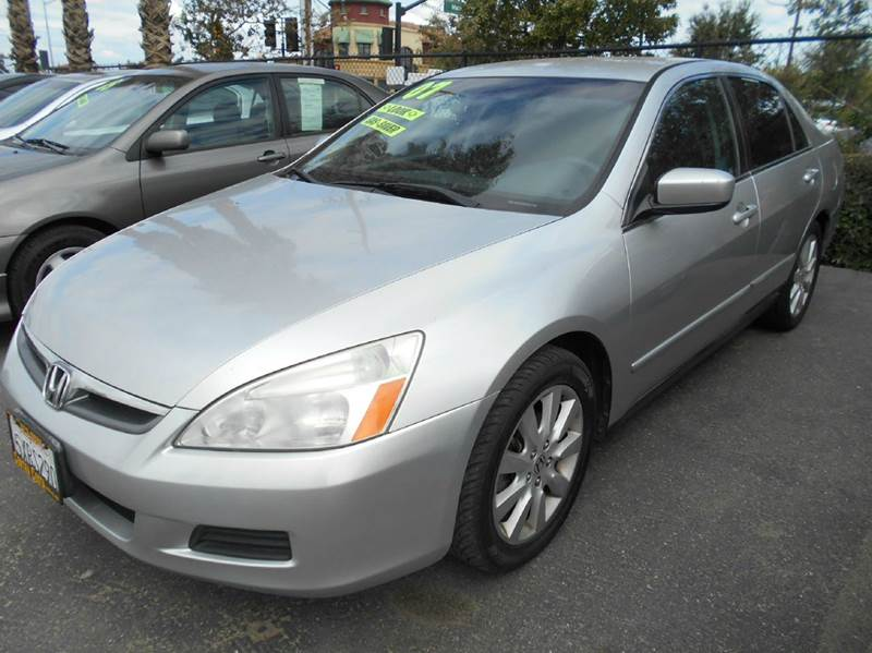 2007 HONDA ACCORD SPECIAL EDITION V-6 4DR SEDAN silver 2-stage unlocking - remote abs - 4-wheel
