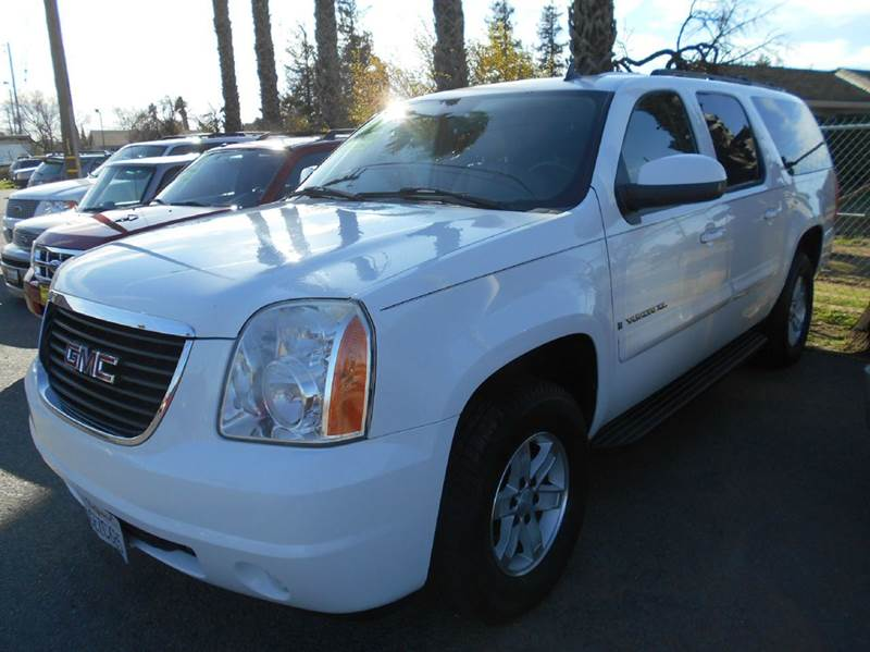 2007 GMC YUKON XL SLT 1500 4DR SUV W4SB W 2 PACK white 2-stage unlocking doors abs - 4-wheel