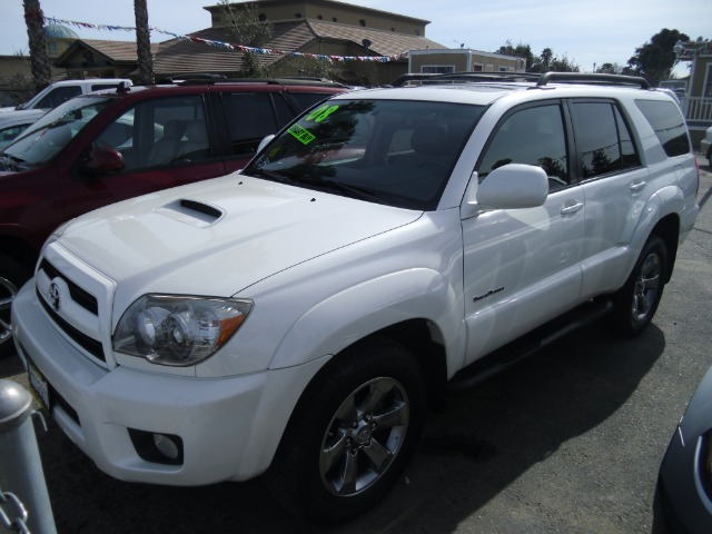 2008 TOYOTA 4RUNNER SR5 2WD white abs brakesair conditioningalloy wheelsamfm radioanti-brake