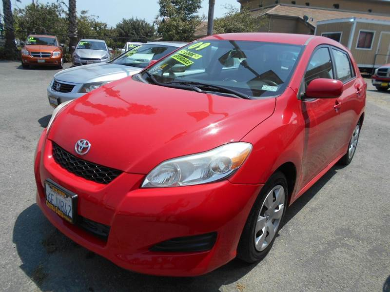 2009 TOYOTA MATRIX BASE 4DR WAGON 4A red abs - 4-wheel active head restraints - dual front air