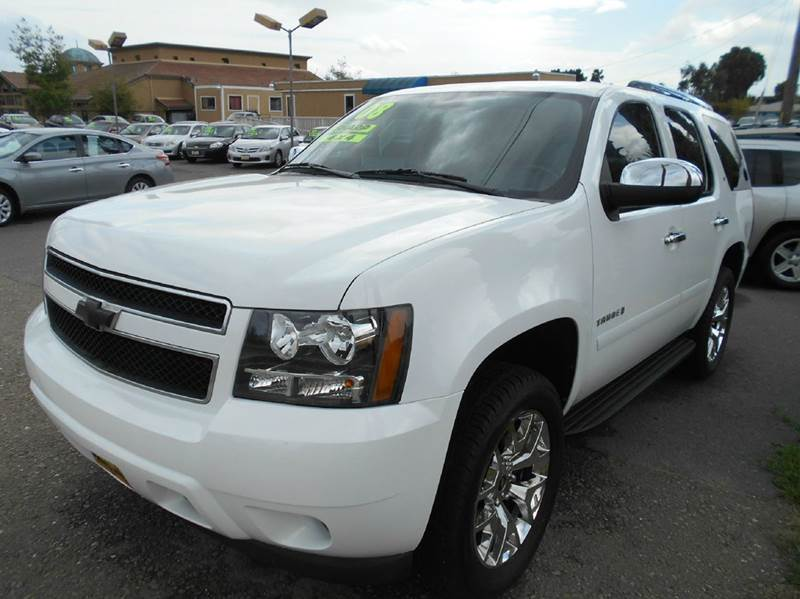 2008 CHEVROLET TAHOE LT 4X4 4DR SUV white 4wd type - part time w on demand setting abs - 4-whee