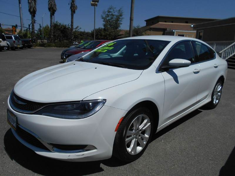 2016 CHRYSLER 200 LIMITED 4DR SEDAN white 2-stage unlocking doors abs - 4-wheel active head rest