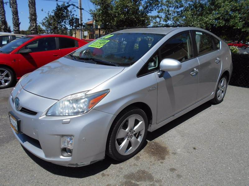 2010 TOYOTA PRIUS 4DR HATCHBACK silver abs - 4-wheel active head restraints - dual front air fi