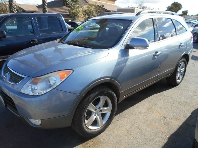 2007 HYUNDAI VERACRUZ LIMITED CROSSOVER 4DR blue 2-stage unlocking - remote abs - 4-wheel air f