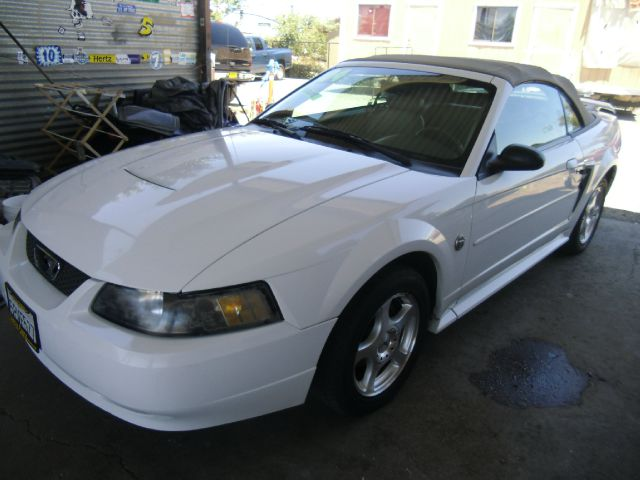 2004 FORD MUSTANG DELUXE 2DR CONVERTIBLE white 16 inch wheels alloy wheels anti-theft alarm syst
