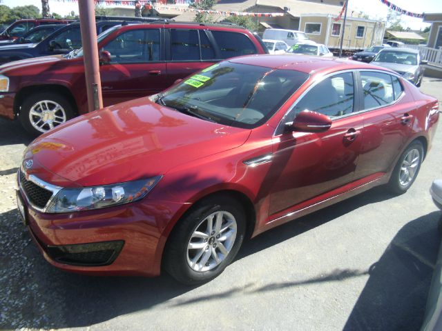 2011 KIA OPTIMA LX 4DR SEDAN 6A red 2-stage unlocking abs - 4-wheel active head restraints - dua