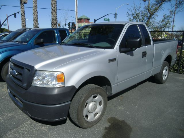 2007 FORD F-150 XL 2DR REGULAR CAB STYLESIDE 65 silver abs - 4-wheel airbag deactivation - occu