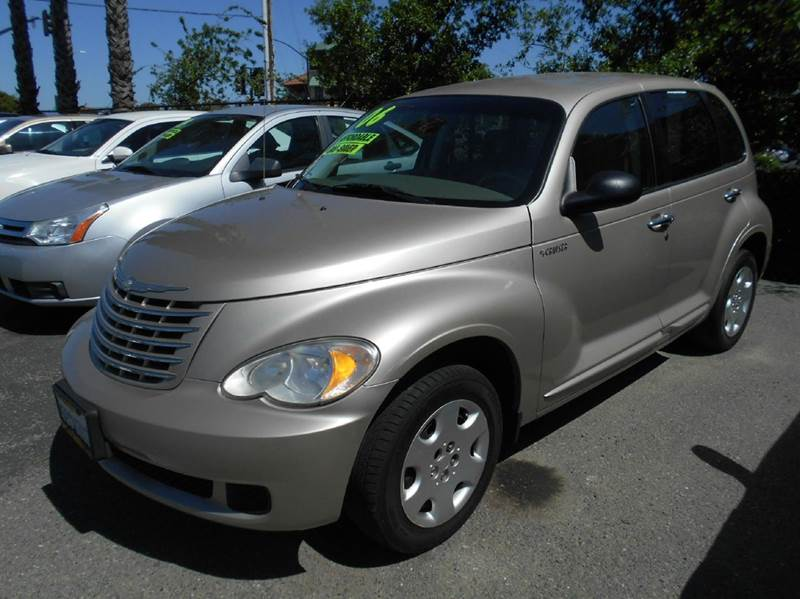 2006 CHRYSLER PT CRUISER TOURING 4DR WAGON gold airbag deactivation - occupant sensing passenger