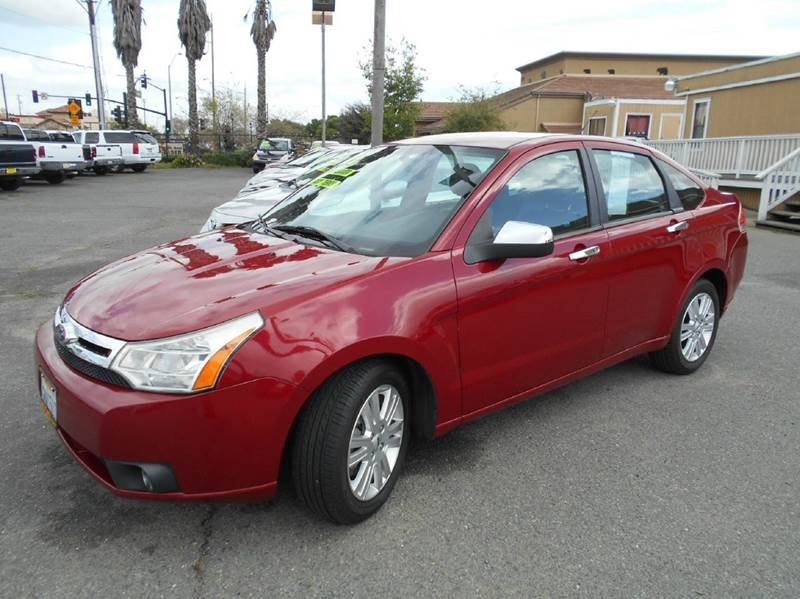 2011 FORD FOCUS SEL 4DR SEDAN red abs - 4-wheel airbag deactivation - occupant sensing passenger