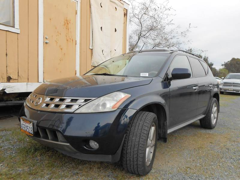 2005 NISSAN MURANO SE 4DR SUV blue abs - 4-wheel anti-theft system - alarm center console - fro
