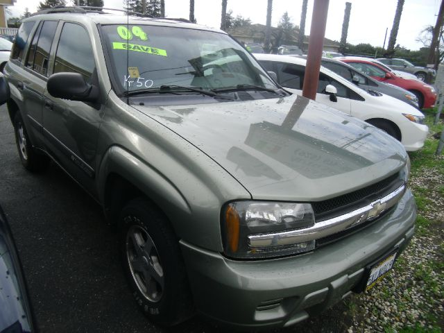 2004 CHEVROLET TRAILBLAZER LS 4DR SUV green abs - 4-wheel axle ratio - 342 center console cloc