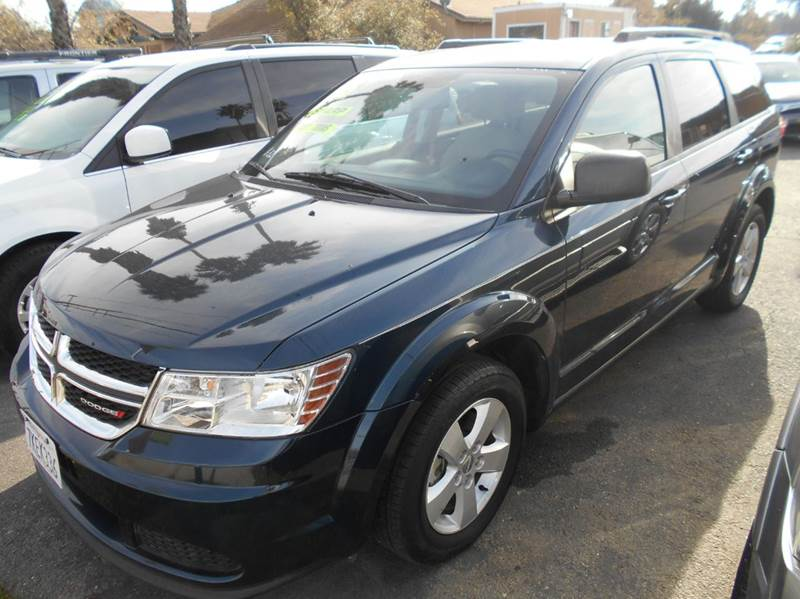 2015 DODGE JOURNEY SE 4DR SUV blue 2-stage unlocking doors abs - 4-wheel air filtration airbag