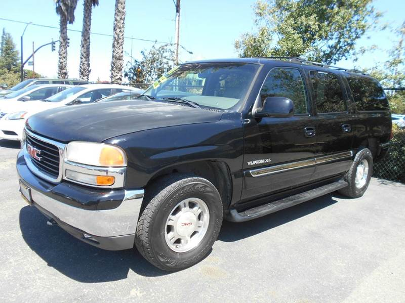 2001 GMC YUKON XL 1500 SLT 4WD 4DR SUV black 4wd type - part time abs - 4-wheel anti-theft syst