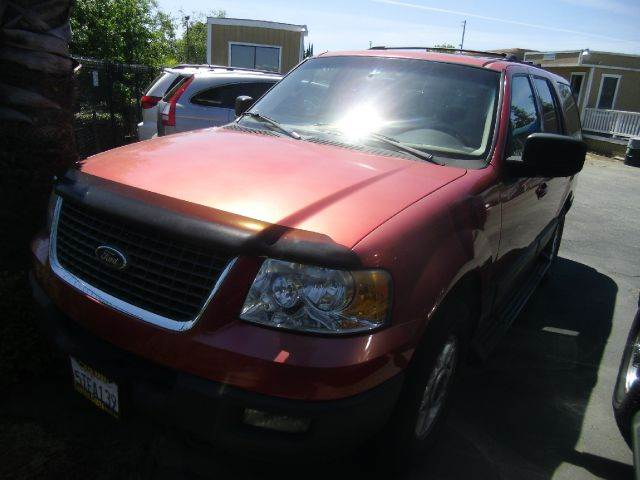 2003 FORD EXPEDITION XLT VALUE 4WD 4DR SUV red abs - 4-wheel adjustable pedals - power anti-the