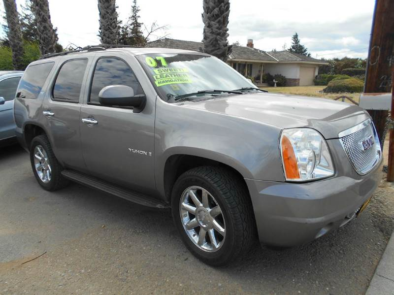 2007 GMC YUKON SLT 4DR SUV W4SA W 1 PACKAGE gray 2-stage unlocking - remote abs - 4-wheel air