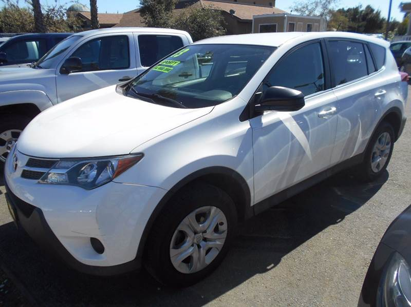 2013 TOYOTA RAV4 LE AWD 4DR SUV white 4wd type - on demand abs - 4-wheel active head restraints