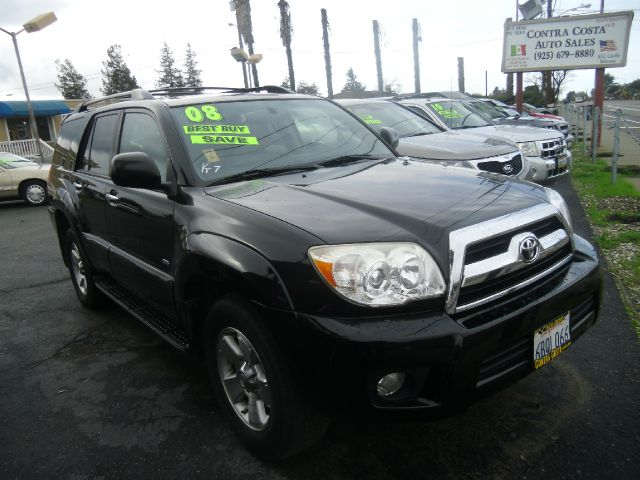 2008 TOYOTA 4RUNNER SR5 4X2 SUV black abs - 4-wheel air filtration airbag deactivation - occupa