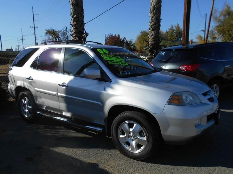 2006 ACURA MDX BASE AWD 4DR SUV silver abs - 4-wheel air filtration airbag deactivation - occup
