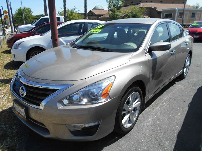 2013 NISSAN ALTIMA 25 SV 4DR SEDAN gold 2-stage unlocking doors abs - 4-wheel active head rest