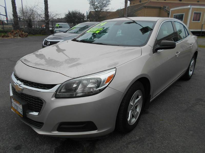 2014 CHEVROLET MALIBU LS 4DR SEDAN gold 2-stage unlocking doors abs - 4-wheel active head restr