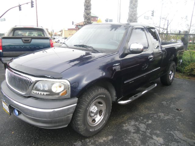 2002 FORD F-150 XL 4DR SUPERCAB 2WD STYLESIDE SB blue abs - 4-wheel anti-theft system - alarm ax