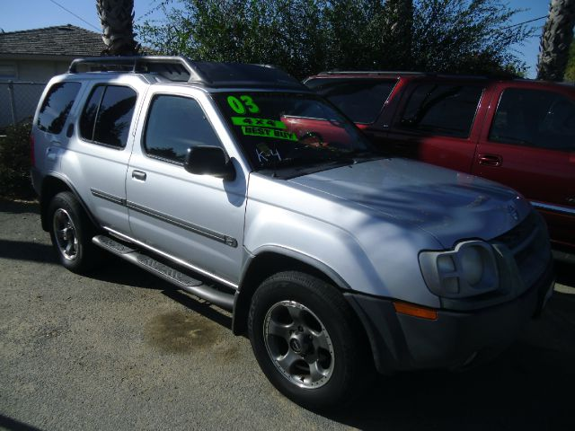 2003 NISSAN XTERRA SE SC 4WD 4DR SUV silver abs - 4-wheel anti-theft system - alarm axle ratio