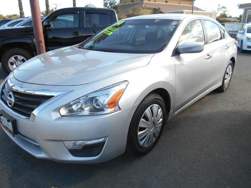 2014 NISSAN ALTIMA 25 S 4DR SEDAN silver 2-stage unlocking abs - 4-wheel active head restraint