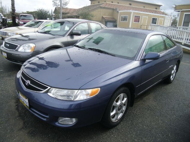 2000 TOYOTA CAMRY SOLARA SLE V6 2DR COUPE blue abs - 4-wheel anti-theft system - alarm cassette