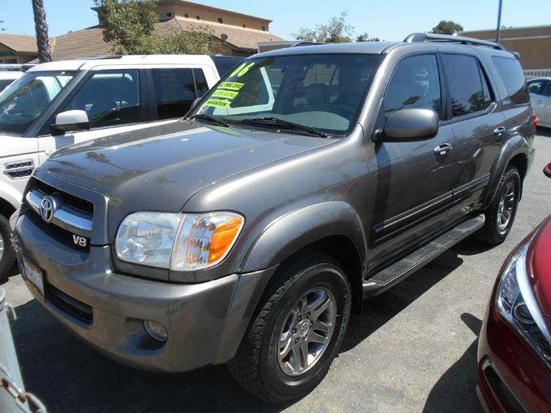 2006 TOYOTA SEQUOIA LIMITED 4DR SUV 4WD charcoal 4wd selector - electronic hi-lo 4wd type - part