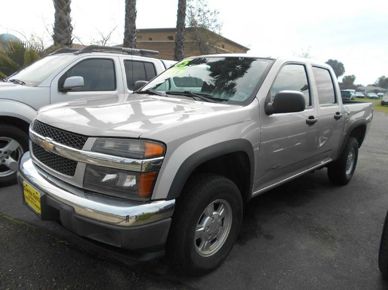 2005 CHEVROLET COLORADO Z85 LS 4DR CREW CAB 4WD SB silver abs - 4-wheel axle ratio - 410 cente