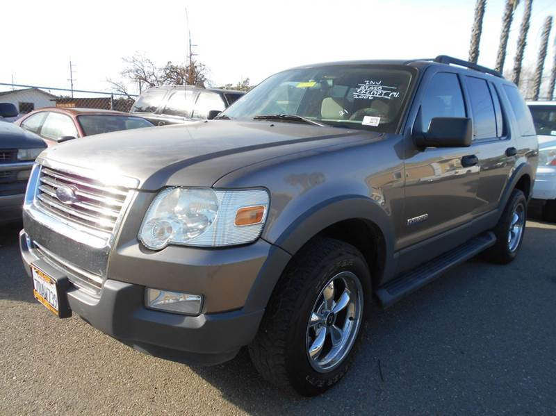 2006 FORD EXPLORER XLT 4DR SUV 4WD V6 gray 4wd selector - electronic 4wd type - on demand abs