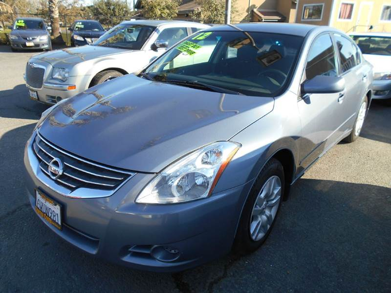 2012 NISSAN ALTIMA 25 S 4DR SEDAN gray 2-stage unlocking - remote abs - 4-wheel active head re
