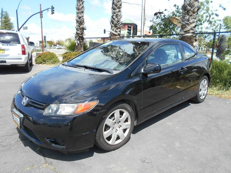 2008 HONDA CIVIC LX 2DR COUPE 5A black abs - 4-wheel active head restraints - dual front air fi