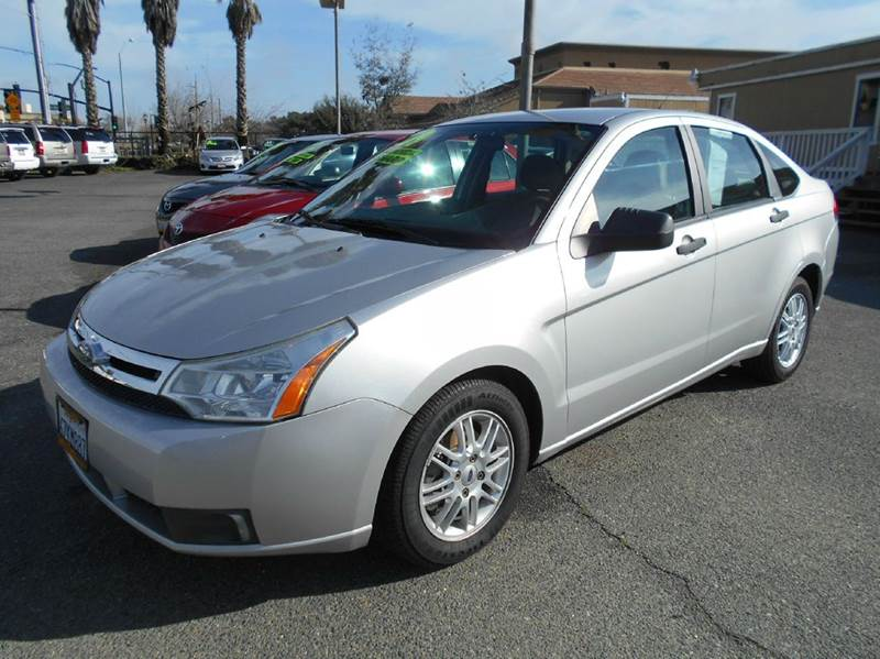 2009 FORD FOCUS SE 4DR SEDAN silver airbag deactivation - occupant sensing passenger alternator