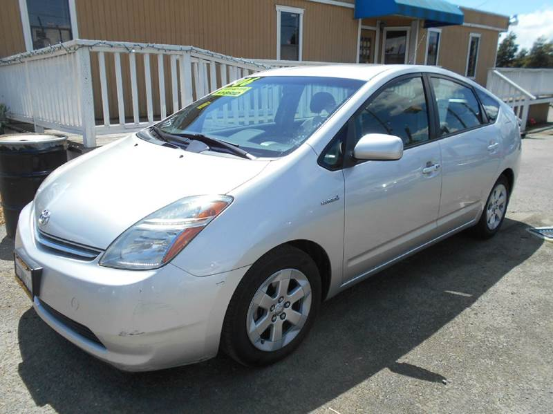2006 TOYOTA PRIUS BASE 4DR HATCHBACK silver abs - 4-wheel air filtration airbag deactivation -