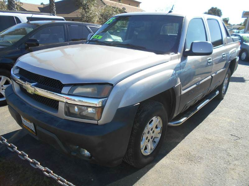 2005 CHEVROLET AVALANCHE 1500 Z71 4DR 4WD CREW CAB SB silver abs - 4-wheel anti-theft system - a