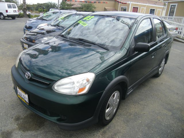 2003 TOYOTA ECHO 4DR SEDAN green center console front airbags - dual front seat type - bucket f