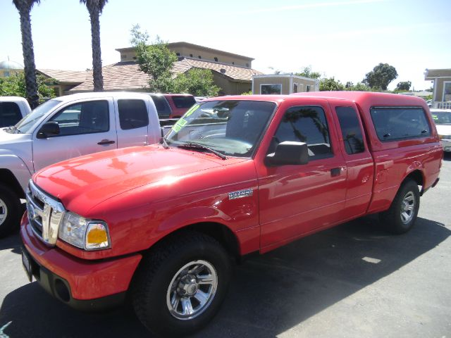 2008 FORD RANGER XLT 4X2 PICKUP EXTENDED CAB 4DR red abs - 4-wheel airbag deactivation - passeng